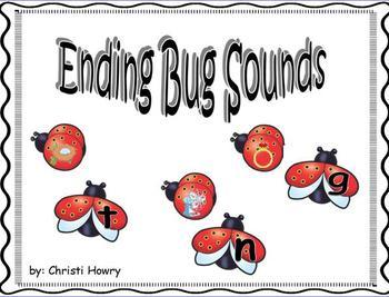 Ending Bug Sounds - Promethean Board Activity