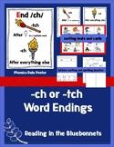 -ch or -tch Word Endings