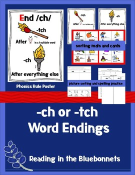 -ch or -tch Word Endings