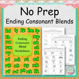 NO PREP Ending Consonant Blends