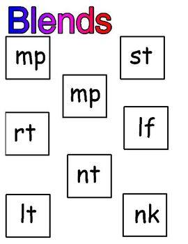 Ending Consonant Blends