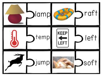 Ending Consonant Blends Bundle st, sk, sp, nd, nt, nk, mp, ft, lk, lp, lt
