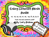 Ending Consonant Blends Bundle st, sk, sp, nd, nt, nk, mp,