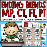 Ending Blends   CT, FT, MP, PT   Phonics Games