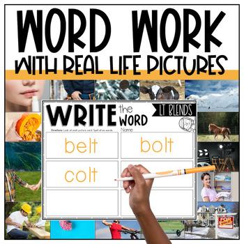 LD, LF, LK, LM, LP, LT Word Work Centers