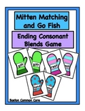 Ending Consonant Blends Mittens Game