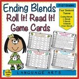 Ending Consonant Blends Roll It! & Read It!