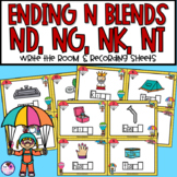 Ending Blends | ND NG NK NT CK MP | Phonics Activity | Write the Room