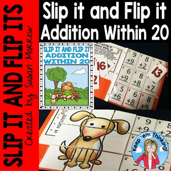Addition Within 20 Slip It and Flip It