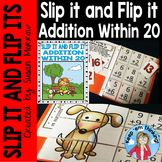Addition Within 20 Self Checking Math Puzzles: Slip It and