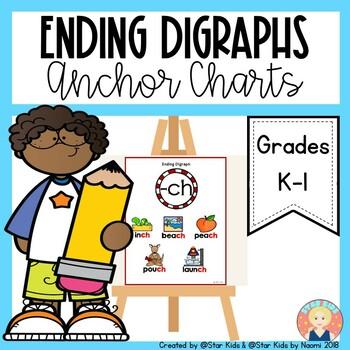 Ending Diagraphs {Anchor Charts}