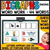 Ending Diagraphs (ch, ck, dge, ng, sh, tch, th)