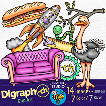 Ending Digraph -CH Clipart