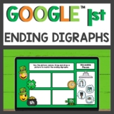 Ending Digraph Practice for Google Classroom™ for Distance