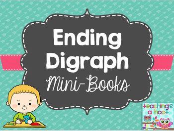 Ending Digraph mini-books