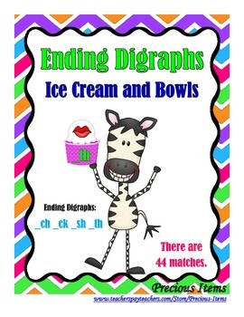 Ending Digraphs - Bowls and Ice Cream
