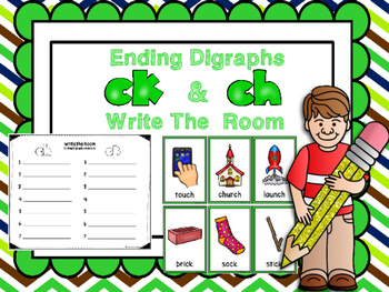 Ending Digraphs CK And CH Write The Room