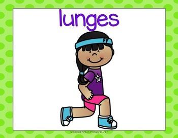 Ending Digraphs Fluency & Fitness Brain Breaks