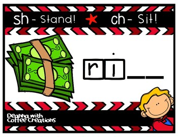 Ending Digraphs - Movement Interactive Game (CH and SH)