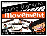 Ending Digraphs - Movement Interactive Game (NG and CK)