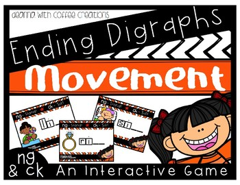 Ending Digraphs - Movement Interactive Game (NG and CK)