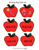 Ending Digraphs ND and NK Picture & Word Sort