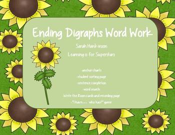 Ending Digraphs {mini unit}