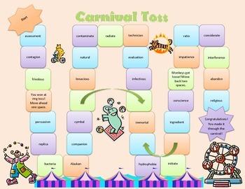 Ending Grid Carnival Toss