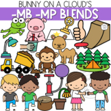 Ending -MB and -MP Blends Clipart by Bunny On A Cloud