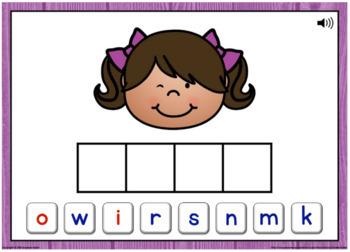 Ending N Blends Word Building Boom Cards