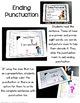Ending Punctuation Digital Task Cards for Kindergarten - Google Classroom Use
