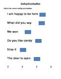 Ending Punctuation English I Errorless Teaching LifeSkills