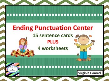 Ending Punctuation -- Fall Theme