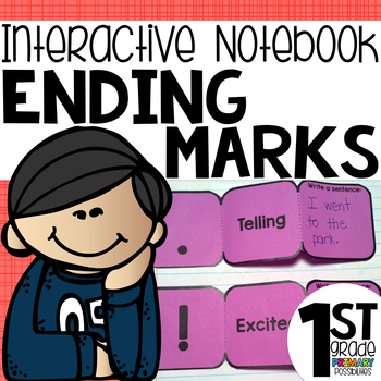 Ending Punctuation Interactive Notebook Activities