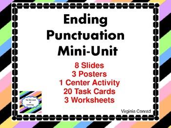 Ending Punctuation Mini-Unit