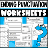Ending Punctuation Worksheets