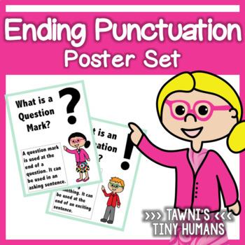 Ending Punctuation Poster Set