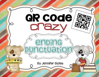 Ending Punctuation QR Code Center