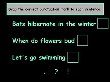 Ending Punctuation SMART Notebook Lesson