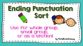 Ending Punctuation Sort