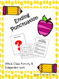 Ending Punctuation practice