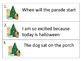 Ending Punctutation -- Task Cards and Worksheets -- Christmas Theme