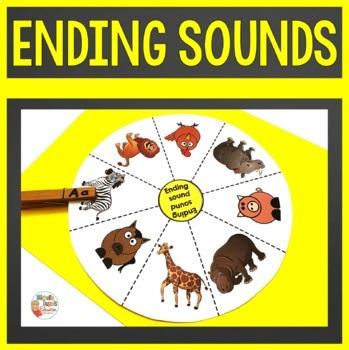 Ending Sound Activities
