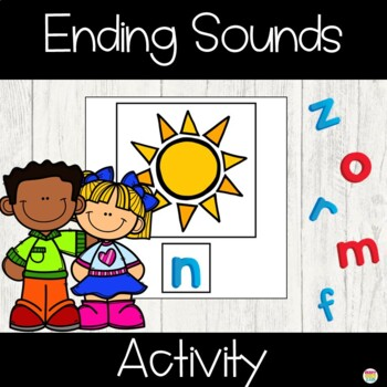 Ending Sound Activity Cards