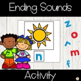 Ending Sounds Activity Cards