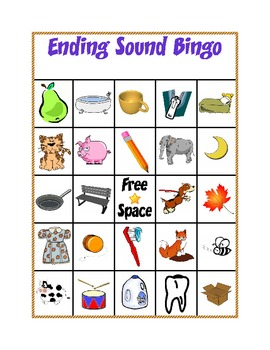 Ending Letter Sounds Activities