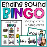 Ending Sound Bingo