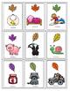 Special Education - Kindergarten -Ending Sound Card Game - Autumn
