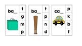 Ending Sound Clothespin Activity Cards
