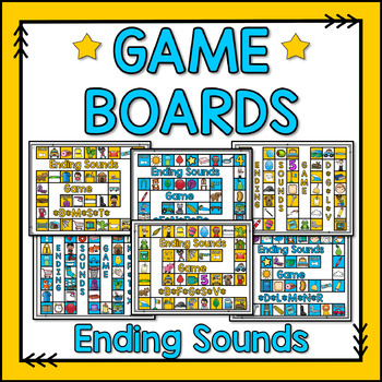 Ending Sound Game Boards